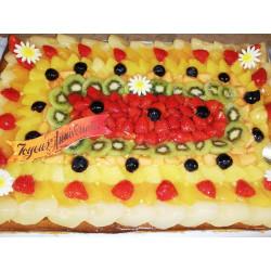 Tarte aux fruits anniversaire