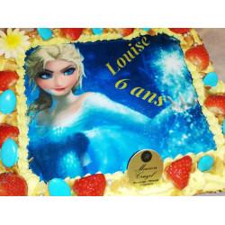 Gâteau à thème La reine des...