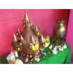Magnifique château en chocolat