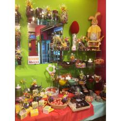 Intérieur boutique chocolats