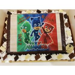 Gâteau PJ MASKS