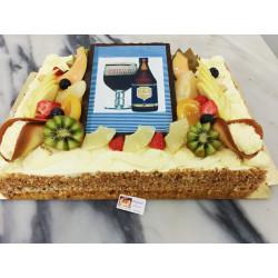 Gâteau pour un vigneron