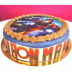 Gâteau à thème IRON MAN