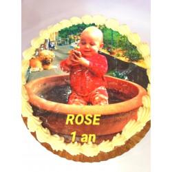 Gâteau à thème avec votre...