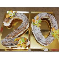 Number cake en Paris-Brest